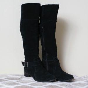 Seychelles Black Knee High Boots size 6.5